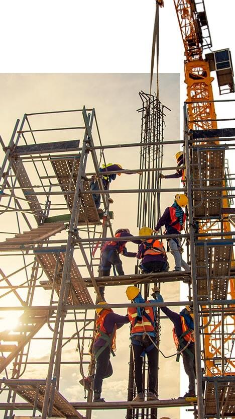 rusztowania na targach budowlanych